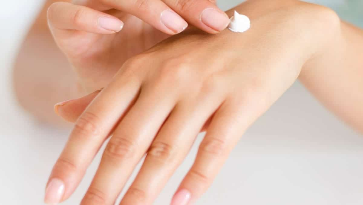 dry hand skincare